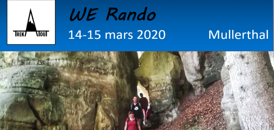 Week-end rando - Mullerthal
