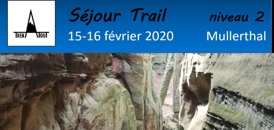 Séjour trail - Mullerthal