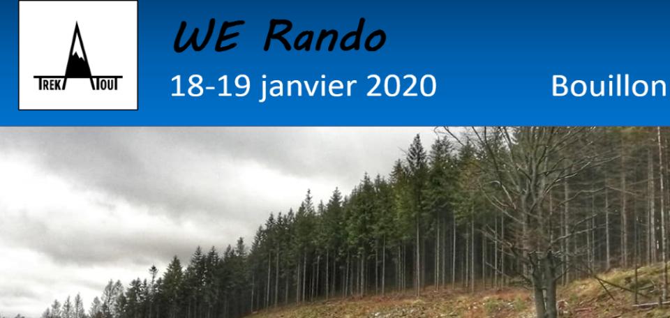Week End Rando - Bouillon