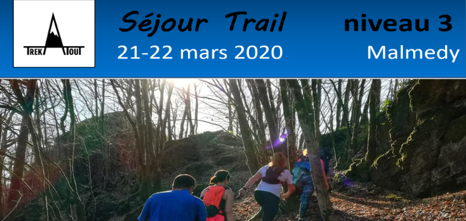 Séjour trail - Malmédy