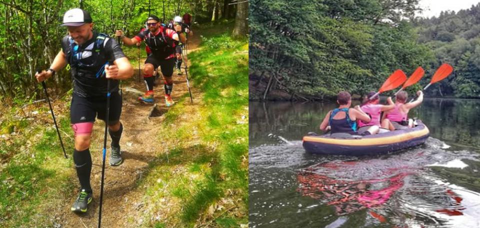 Trail et canoë avec Trek A Tout